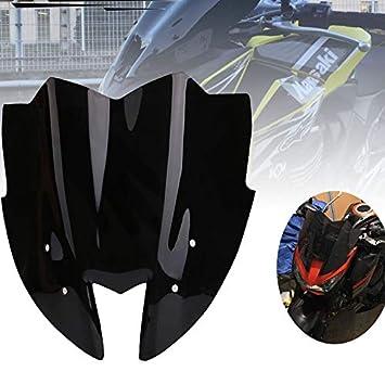 Zr800 13-15 Ans Vert Iycorish Motorcycle Pare-Brise Pare-Brise Pare-Brise Avant Visi/ère pour Kawasaki Kawasaki Z800