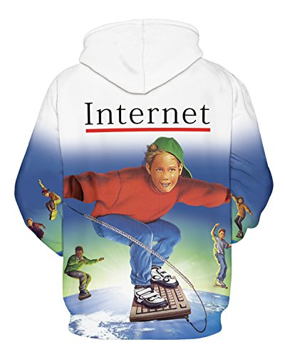 Cappuccio Internet Con Felpa Uomo Shukqueen 8ZUBHOwW