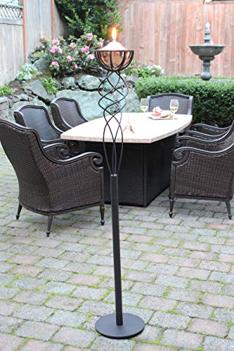 Sunset Elegance Sonoma Copper Patio Torch by Sunset Elegance (Image #3)