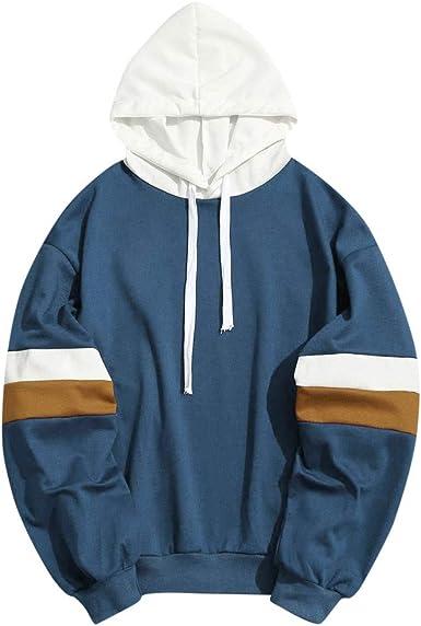 Men Athletic Smile Face Letters Loose Hooded Track Outwear Hoodie Jacket Coat