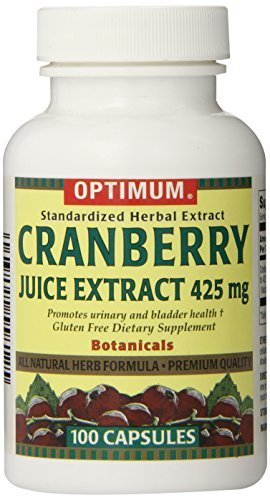 Tablet Mg 425 (Optimum Tablets, Cranberry Juice Extract, 425 Mg, 100 Count (Pack of 2) by Optimum)