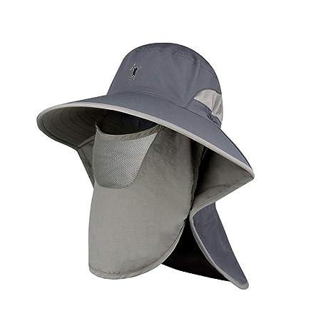 XUERUI Sombreros Sombrero Para El Sol Gorra De Pesca Anti ...