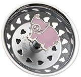 Enamel Kitchen Strainer Pig