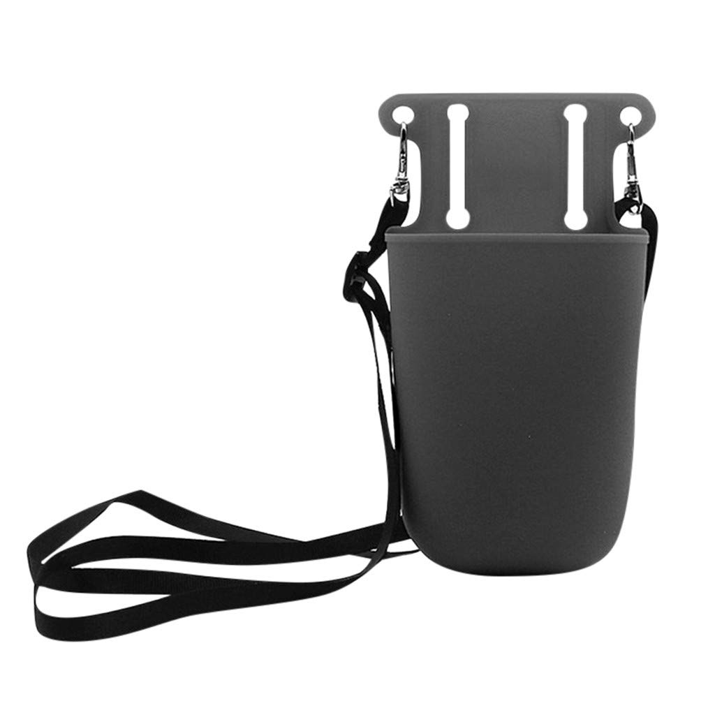 Glumes Hair Styling Storage Unit - Heat Resistant Silicone Tool Pocket Storage Bag Suitable For Beauty Hairdressing Gardening Tool and Ideal for Blow Dryers, Curling Irons, Brushes & More