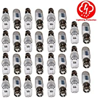 Evertech 16 PAIRS (32 PCS) Port Passive transceiver Video Balun compact size CAT5/CAT6