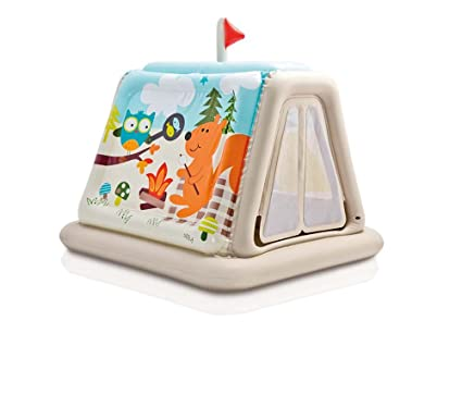 new concept 7cebc 3f9be Amazon.com: Intex Inflatable 48634NP Play Tent Animal Trails ...