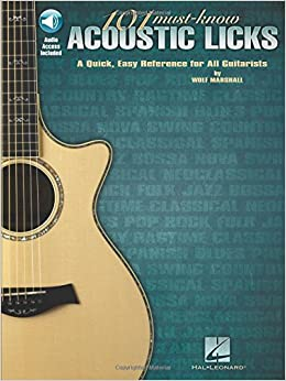 Book 101 Must-Know Acoustic Licks: A Quick, Easy Reference for All Guitarists