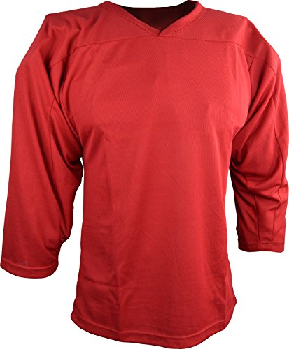 Sports Unlimited Youth Hockey Practice Jersey, Red, Large / X-Large