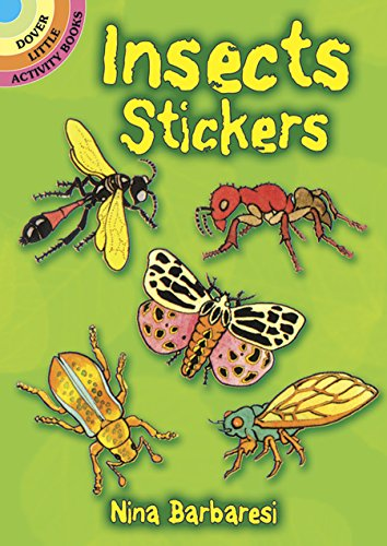 - Insects Stickers (Dover Little Activity Books Stickers)