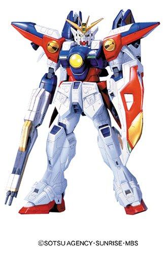 """Bandai Hobby Wing Gundam 0 """"Gundam Wing"""" HG 1/60 Figure Mode"""
