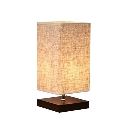 LEDMOMO Lámpara de mesa Lámpara de escritorio de cabecera ...