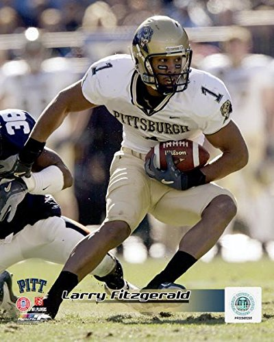 Larry Fitzgerald Pittsburgh Panthers 2003 Action Photo (Size: 8
