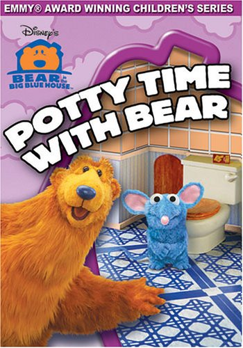 Bear in the Big Blue House - Potty Time With Bear (Big Vhs compare prices)