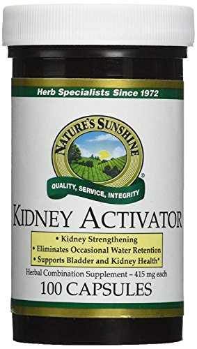 Nature's Sunshine Kidney Activator 100 Capsules (Pack of 2)