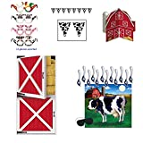 Barnyard Farm Farmees-Inspired Party Decoration Bundle- Decorations, Game, and Favors