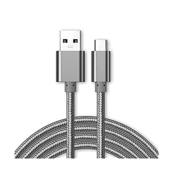 Câble Micro USB [USB 3.0] Chargeur pour Samsung Galaxy Tab A 10.1 (2016) Tablettes [3M] 3 Mètre [3.1A Rapide Haute…