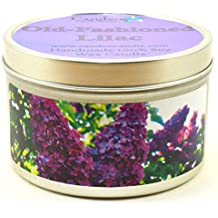 Old-Fashioned Lilac, Super Scented Soy Candle Tin (6 oz)