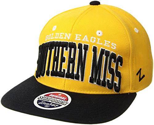 NCAA Southern Mississippi Golden Eagles Super Star Snapback Cap, Gold ()