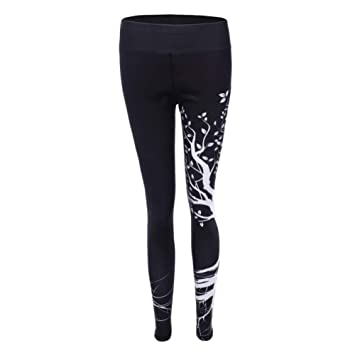WYLYJTZ Pantalones De Yoga Cintura Alta Mujeres Pantalones ...
