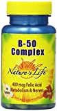 Nature's Life B-Complex Tablets, 50 Mg, 50 Count (Pack of 2) Review