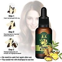 Serum Cabello, 2 PCS Ginger Oil, MS.DEAR Tratamiento para el Cabello Esencia anticaída Hair Serum, Anti Pérdida de Cabello, Esencia Herbal Natural ...