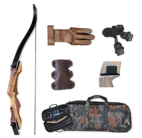 Samick Sage Take Down Recurve Bow Starter Package 40# Right Handed