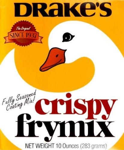 Drakes Crispy Fry Mix, 10oz - Fry Coating Mix