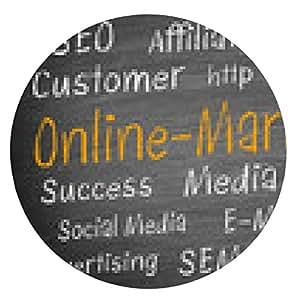alfombrilla de ratón Online-Marketing - ronda - 20cm