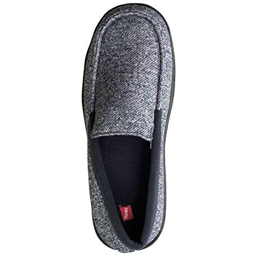 Slipper Outdoor Fresh Hanes Memory Moccasin Indoor Shoe IQ Navy with Foam Men's IYqFxwqgB