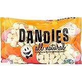 Dandies - Vegan Marshmallows - Pumpkin, 10 oz. Bag (Pack of 4)