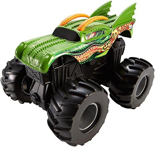 Hot Wheels Monster Jam Rev Tredz Dragon ()