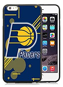 New Custom Design Cover Case For iPhone 6 Plus 5.5 Inch Indiana Pacers 12 Black Phone Case