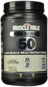 Cytosport Muscle Milk Pro Series Protein Powder, Crushing Cookies N Creme, 2.54 Pound