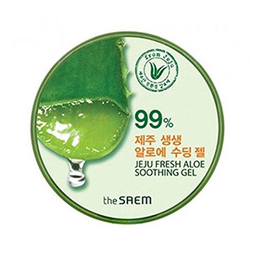 The Saem 99% Jeju Fresh Aloe Soothing Gel 300ml/10.14oz from THESAEM