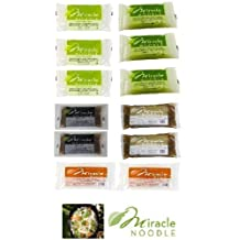 Miracle Noodle ALL FLAVORS Variety 12 Pack by Miracle Noodle