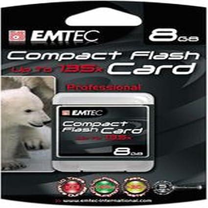 Emtec Compact Flash High Speed 8GB - Tarjeta de memoria (8 ...
