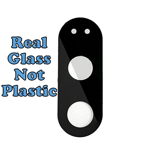 Norby Camera Lens Real Glass With Pre Installed Adhesive for Motorola Moto G4 Plus (Black)