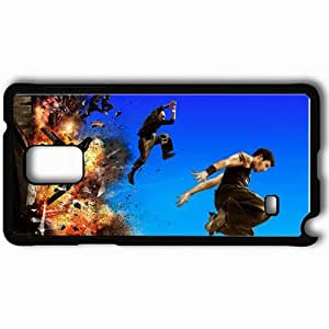 Personalized Samsung Note 4 Cell phone Case/Cover Skin 13th District Ultimatum Banlieue 13 Ultimatum Thriller Explosion Parkour Cyril Raffaelli Black