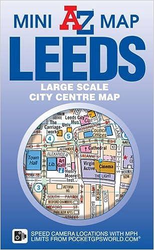 Leeds Mini Map Amazoncouk Geographers AZ Map Co Ltd
