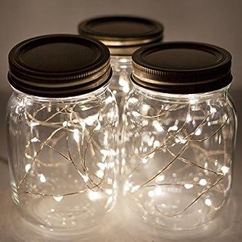 Amazon.com: RAZ Mason Jar String Light Garland: Home