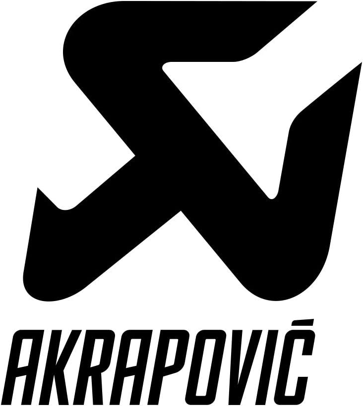 Supersticki Akrapovic Schrifzug Logo Ca 20cm Motorrad Aufkleber Bike Auto Racing Tuning Aus Hochleistungsfolie Aufkleber Autoaufkleber Tuningaufkleber Hochleistungsfolie Für Alle Glatten Auto