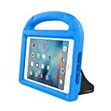 "New iPad 9.7 Inch 2017 / iPad Air 2 / iPad Air Case, Ubearkk Kids Friendly Light Weight Shock Proof Convertible Handle Stand Cover for Apple New iPad 9.7"" 2017 Model, iPad Air 2, iPad Air (Blue)"