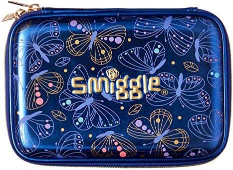 Trousse Smiggle Shimmy /à couvercle rigide avec logements pour crayons et stylos