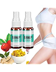 KCRPM Burn Up Ultimate Cellulite Heating Spray, Fat Burner Slimming Spray for Quick Absorption and Penetration, Herbal Anti Cellulite Spray for Men and Woman