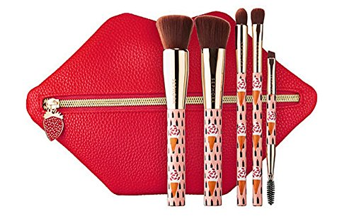 Sephora Collection Bouffants & Broken Hearts Edition Berry Kissable Brush Set