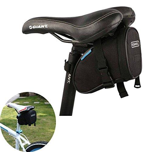 Roswheel Bike Saddl Seatpost Bag Fashion Fixed Gear Fixie Black Practical New