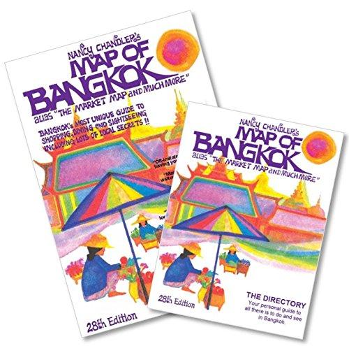 Nancy Chandler's Map of Bangkok, 28th Edition (Map Bangkok)