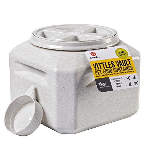 - Vittles Vault Outback 15 lb Airtight Pet Food Storage Container