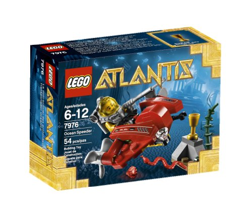 Atlantis Submarine - LEGO Atlantis Ocean Speeder 7976