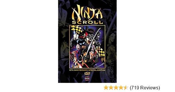 Amazon.com: Ninja Scroll (10th Anniversary Edition): Kôichi ...